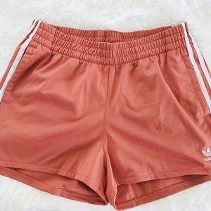 Adidas Satin Shorts (Pink) Medium NWT